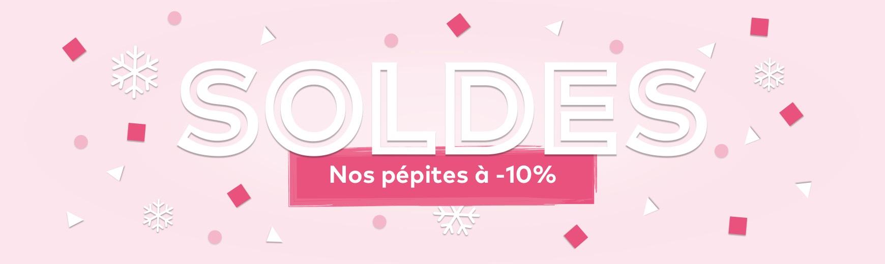 Soldes -10%