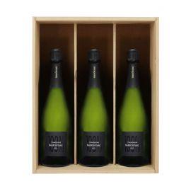 Caisse Champagne - Caisse bois 3 bouteilles