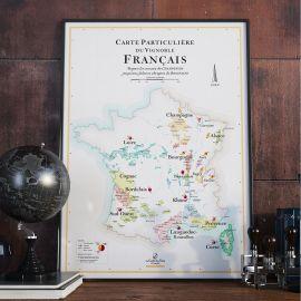 Affiche des vins de France