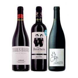 Apéro trio rouge - 3 bouteilles