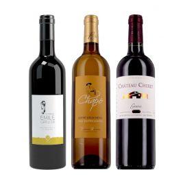 Trio Bordeaux - 3 bouteilles