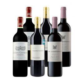 Bordeaux prix doux - 6 bouteilles