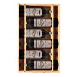 Château Chasse Spleen 2018 - 6 bouteilles & Caisse bois