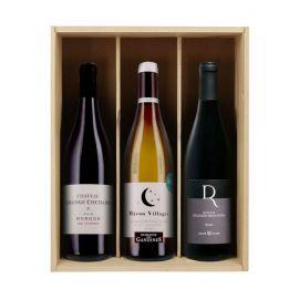 Chouchous des abos - 3 bouteilles & caisse bois