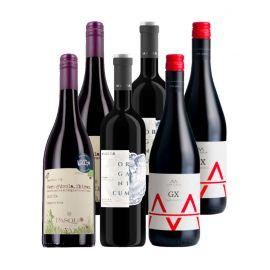 Vins européens - 6 bouteilles