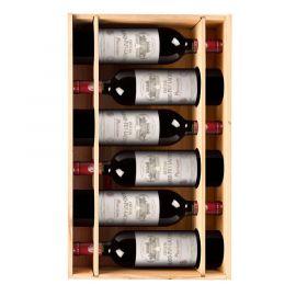 Château Grand Puy Lacoste 2017 - 6 bouteilles & Caisse bois