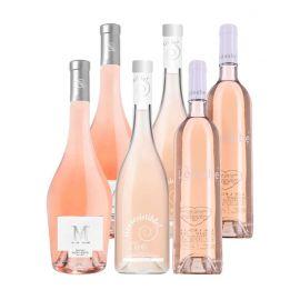 Grands rosés - 6 bouteilles