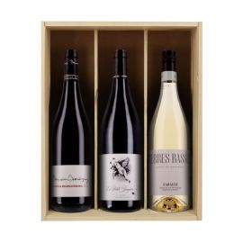 Indispensables apéro - 3 bouteilles & Caisse bois
