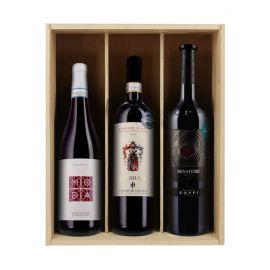 Caisse tour de l'Italie - 3 bouteilles