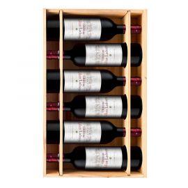 Château Lilian Ladouys 2015 - 6 bouteilles & Caisse bois