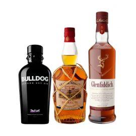 Mix spiritueux - 3 bouteilles