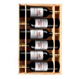 Château Olivier rouge 2017 - 6 bouteilles & Caisse bois