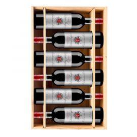 Château Poujeaux 2016 - 6 bouteilles & Caisse bois