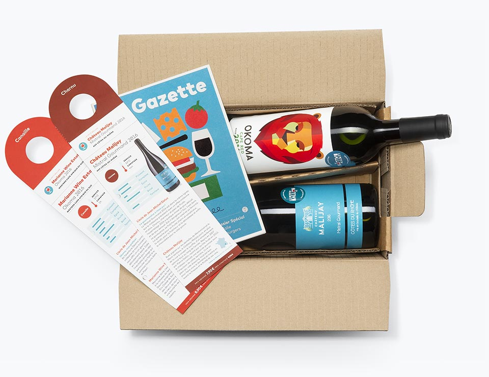 Box dégustation vin pour connaisseurs - abonnement à offrir pour découvrir des grands crus - Le Petit Ballon