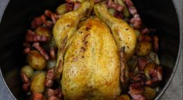 Le poulet cocotte façon grand mère