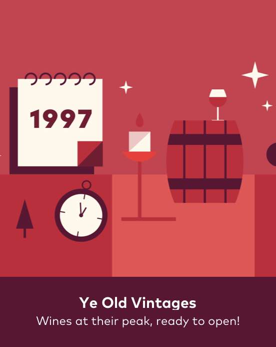 Ye olde vintages