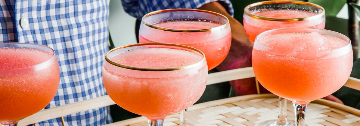 Audacieux Top 3 des cocktails à base de rosé - Le Petit Ballon OC-22