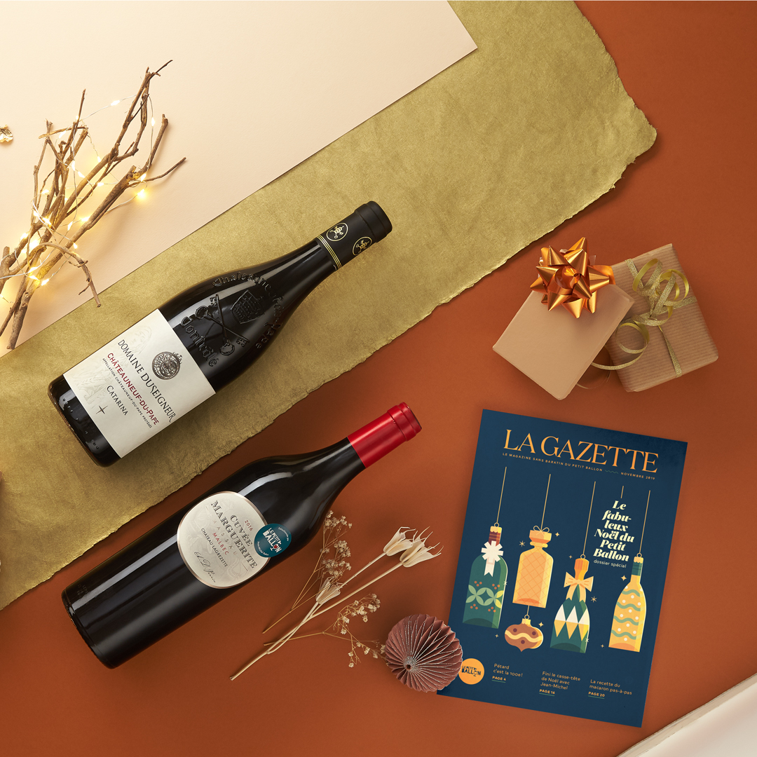 abonnement grand vin cadeau noel
