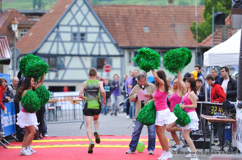 Marathon du vignoble d'Alsace à Molsheim
